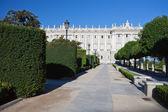 在马德里的皇家宫殿 — 图库照片
