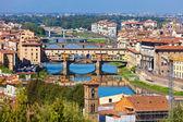 フィレンツェのヴェッキオ橋 — ストック写真