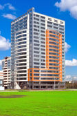 Moderna flerbostadshus现代公寓楼 — Stockfoto