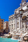 Fountain di Trevi — Stock Photo