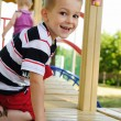 Happy boy at playground — Stock Photo