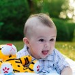 Cute baby boy portrait — Stock Photo