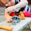 Little carpenter — Stock Photo #12255871