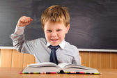 Confident little boy — Stock Photo