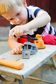 Little carpenter — Stockfoto