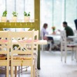 Couple dating in cafe — Foto Stock