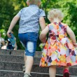 Walking in park — Stock Photo #12547048