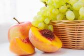 White grapes — Stock Photo