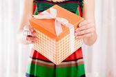 Present box — Stock Photo
