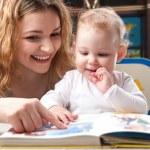 Family reading — Stock Photo #13855579