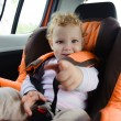 Baby in car seat — Stock Photo #13856323