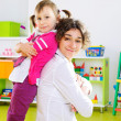 Happy mother and little daughter — Stock Photo #19498777