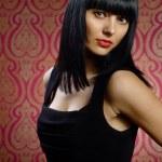 Beautiful brunette girl glamour portrait — Stock Photo #22654707