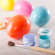 Painting Easter eggs — Stock Photo #23562295