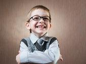Süße kleine junge-porträt — Stockfoto