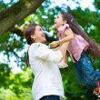 Happy young mother with her daughter — Stock Photo