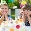 Stock Photo: Happy children having fun at birthday party
