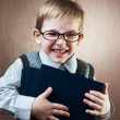 Portrait of cute little boy — Stock Photo
