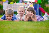 день рождения детей — Стоковое фото