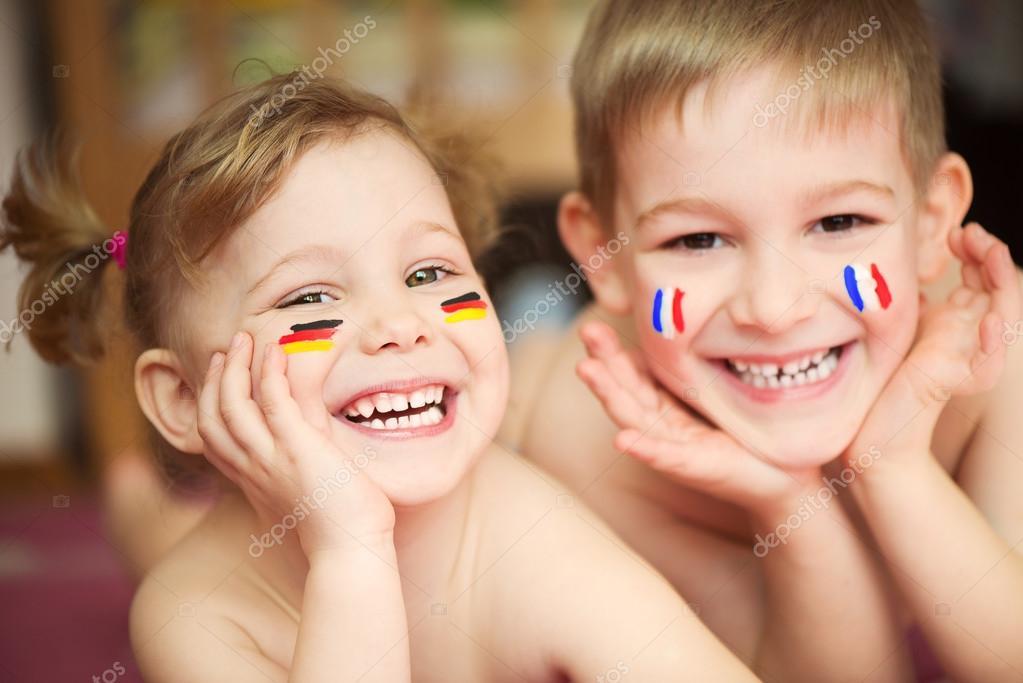 欧洲婴儿头像可爱