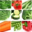 Collage from fresh vegetables — Stock Photo #12159958