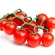 Ripe tomato cherry — Stock Photo