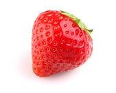 Sweet strawberry in closeup — Stock Photo