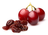 Grapes with raisins — Stock Photo