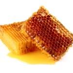 Fresh honeycombs — Stock Photo