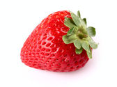 Fresh strawberry in closeup — Foto de Stock