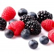 Fresh berry on a white  background — Stock Photo