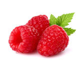 Juicy raspberry — Stock Photo