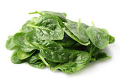 Heap of spinach leaves — Stock Photo