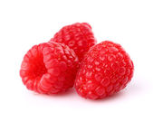 Raspberry in closeup — Stock Photo