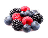 Fresh mix berry — Stock Photo