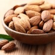 Stock Photo: Almonds kernel