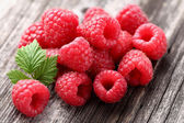 Heap of raspberry — Stock Photo