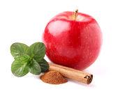 Manzana con especias — Foto de Stock