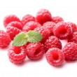 Raspberry with melissa — Stock Photo #30339965