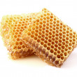 Stock Photo: Honeycombs in closeup
