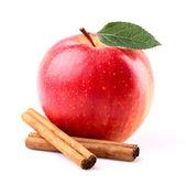 Apple met kaneel — Stockfoto