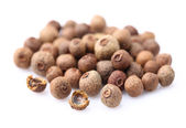 Allspice on a white background — Stock Photo