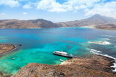 Crucero en la hermosa laguna — Foto de Stock