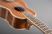 Close-up shot of classic ukulele guitar  — Stock Photo
