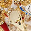 Many sports awards — Stock Photo #13354864