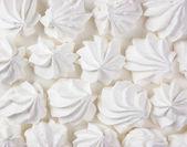 Ciasto beza biały — Zdjęcie stockowe