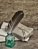 Parcela de pilha embrulhada — Foto Stock
