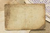 Cartas e postais vintage — Foto Stock
