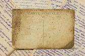 Archiwalne pocztówki i listy — Zdjęcie stockowe