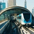 Subway tracks in the united arab emirates - Foto Stock